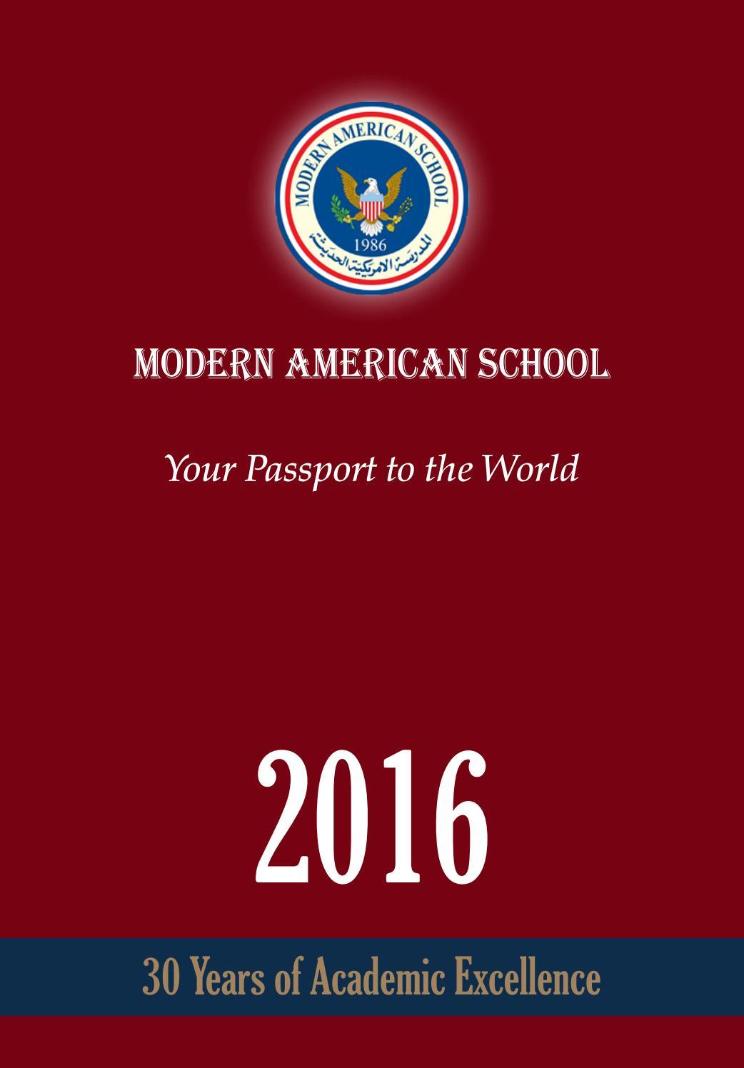 yearbook 2016 by modernamericanschool issuu