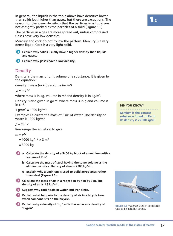 All Grade Worksheets Density Worksheet Chemistry All Grade – Density Worksheet
