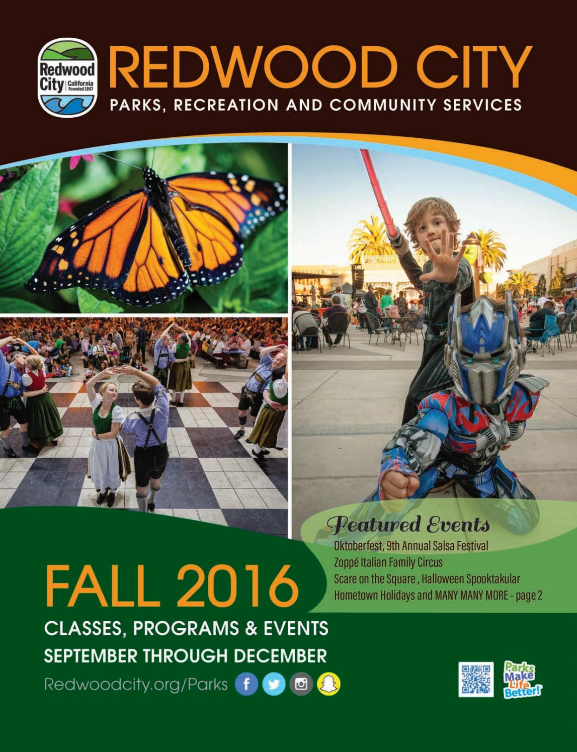 fall by redwood city parks recreation community services fall 2016 by redwood city parks recreation community services issuu