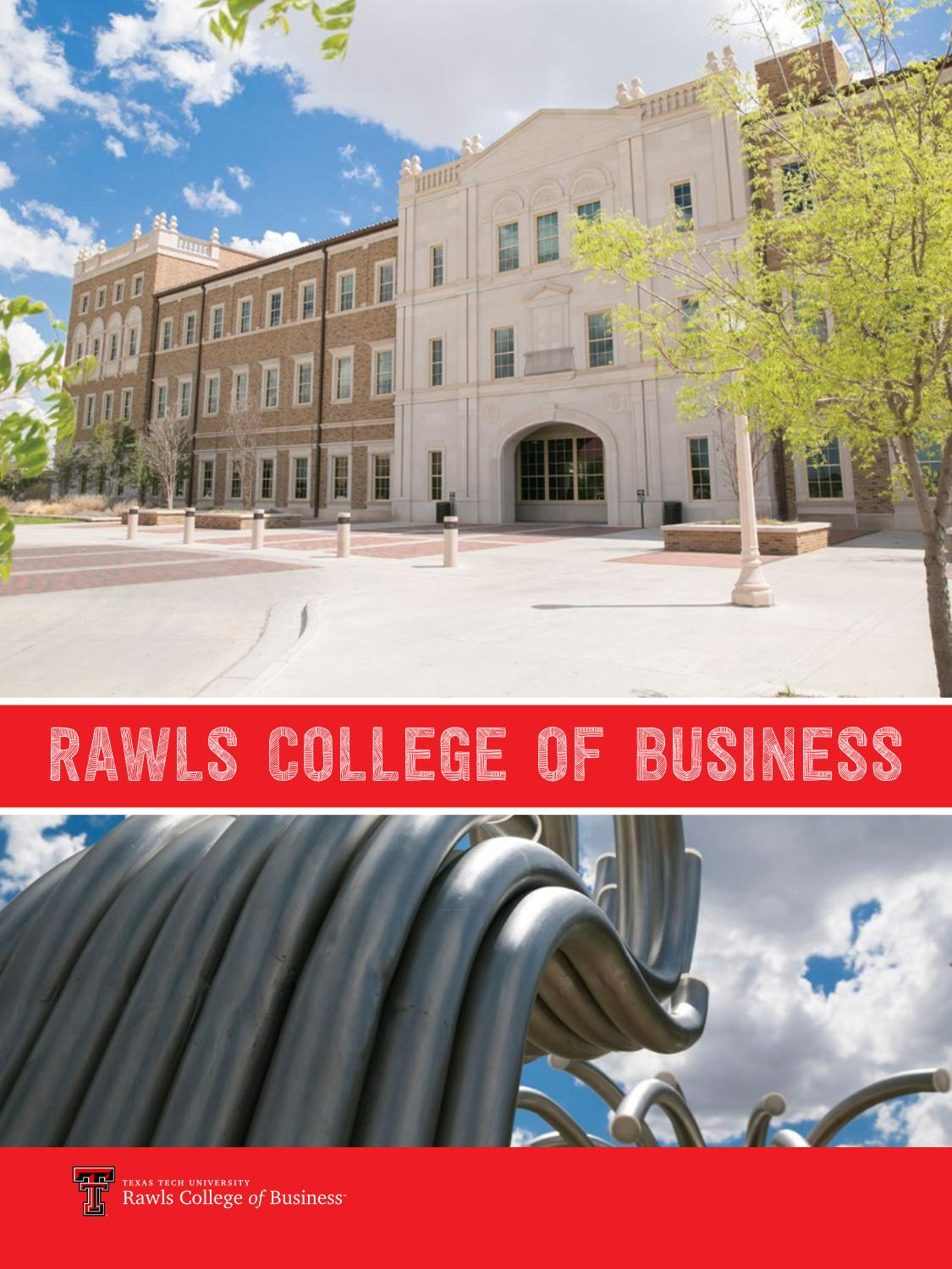 prospective students viewbook by rawls college of business issuu