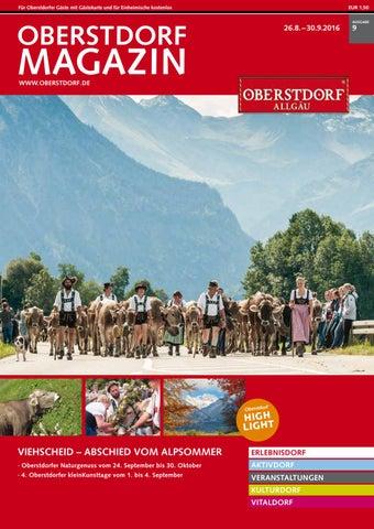 Oberstdorf Magazin 09/2016
