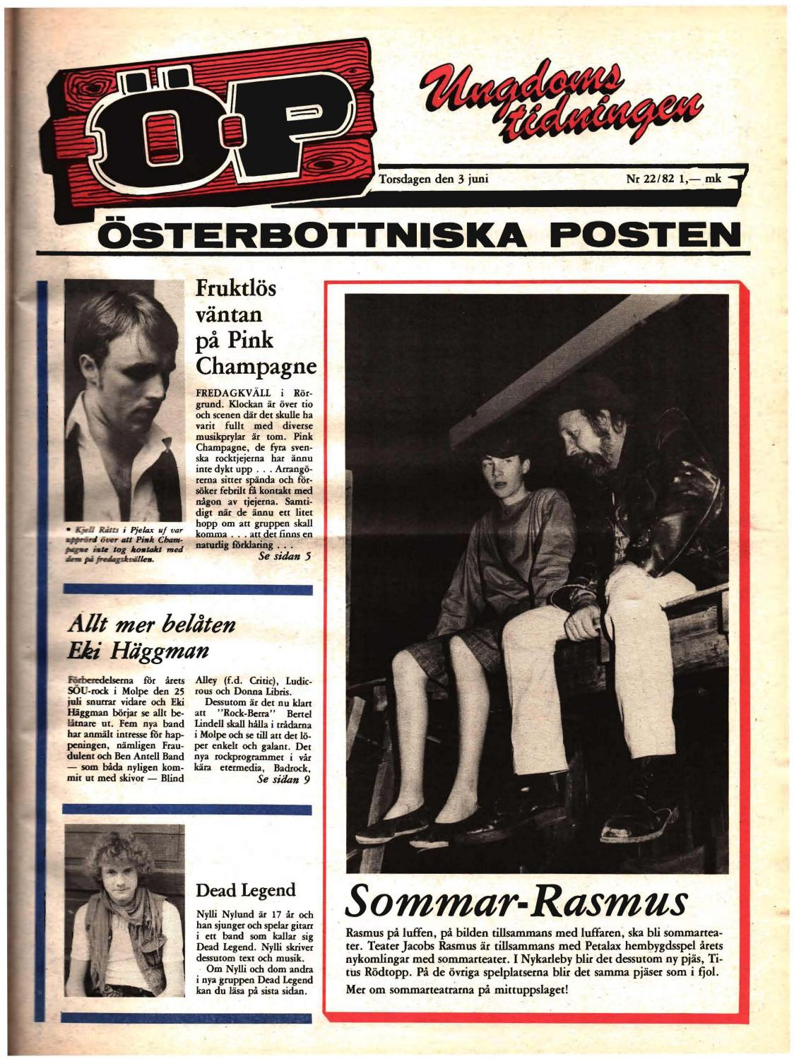 Österbottniska posten (Öp) nr. 21 1982 by Österbottniska posten ...