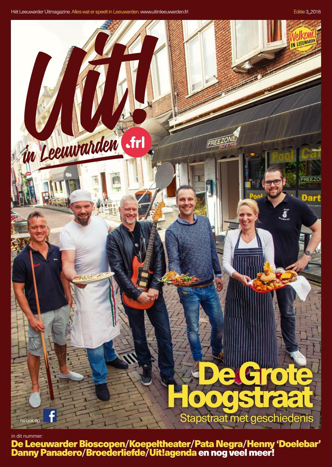 Uit in Leeuwarden editie 3 2016 by Uit in Leeuwarden - issuu