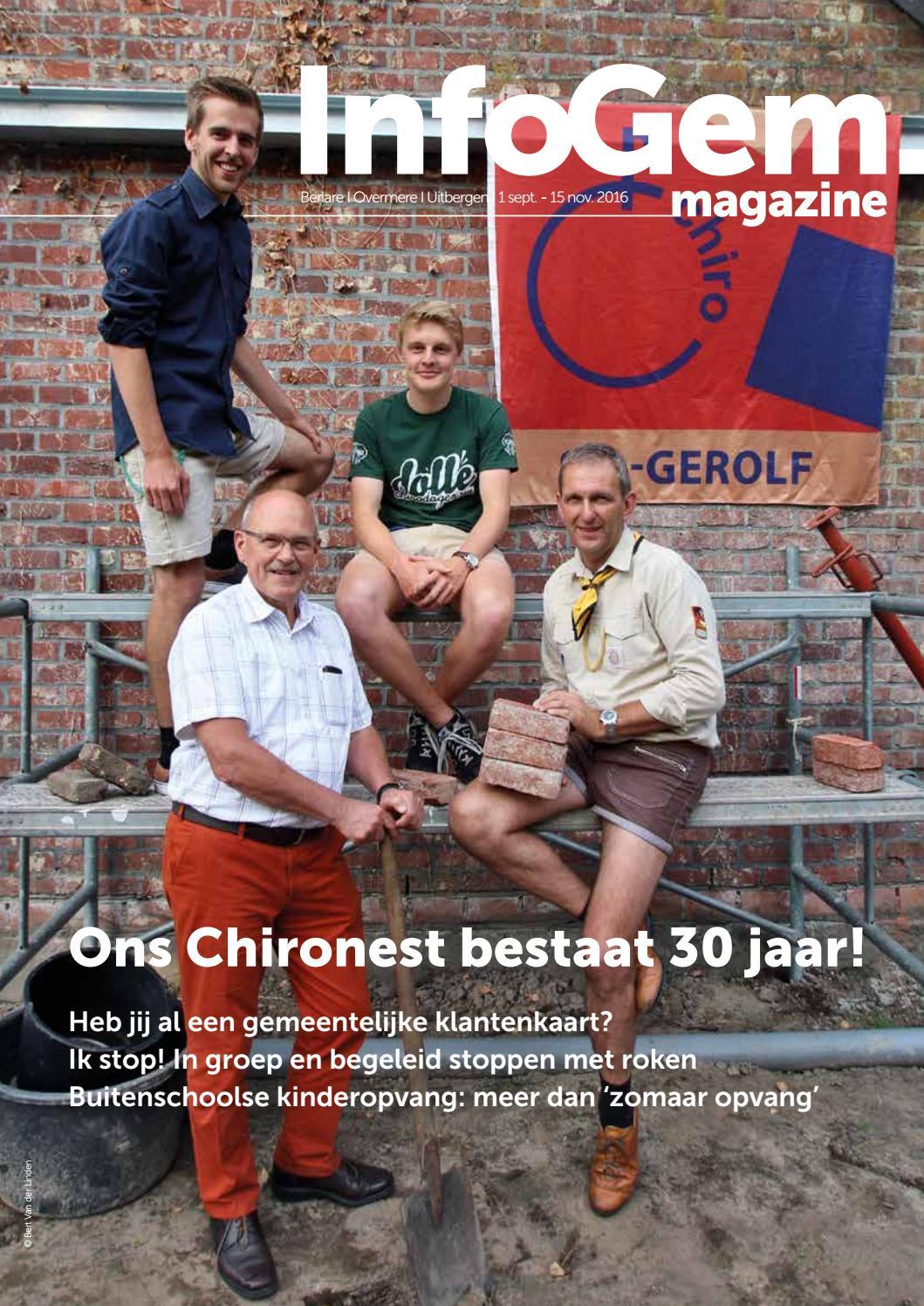 Infogem 1 september - 15 november 2016 by Gemeente Berlare - issuu