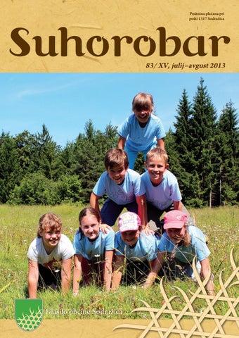 Suhorobar 83/ XV, julij - avgust 2013