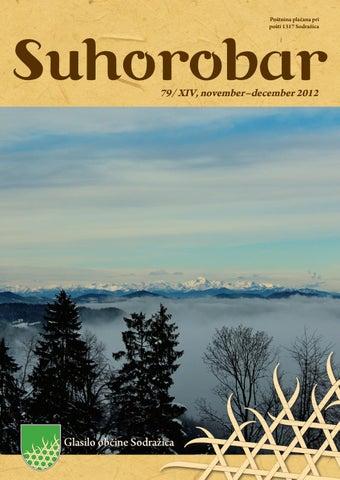 Suhorobar 79/ XIV, november - december 2012