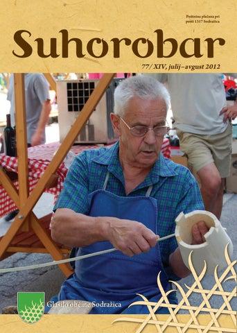 Suhorobar 77 / XIV, julij - avgust 2012