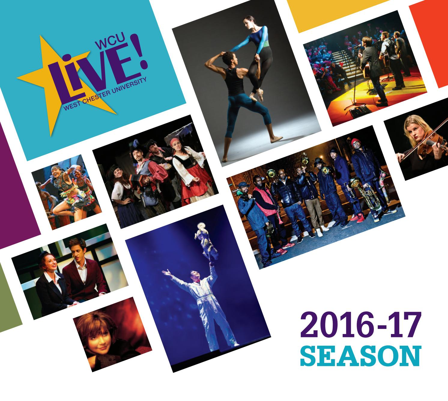 wcu live cultural events calendar by west chester 2016 2017 cultural events calendar by west chester university issuu