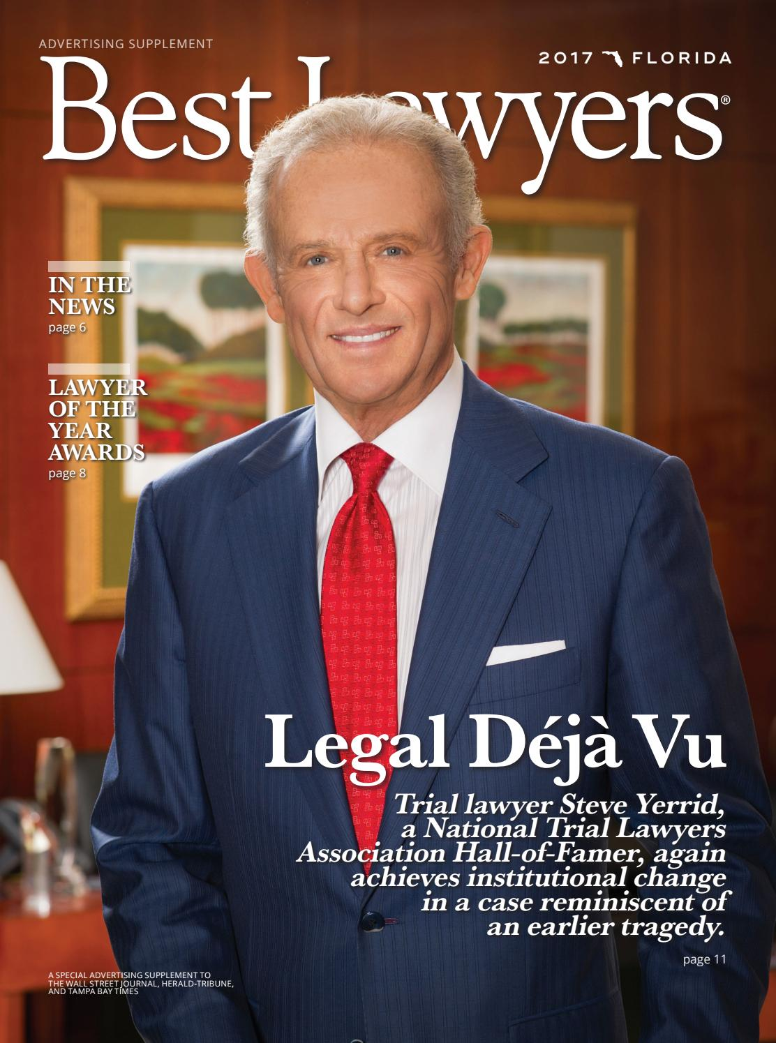 Best Lawyers In Florida Tampa Edition 2017 By Best