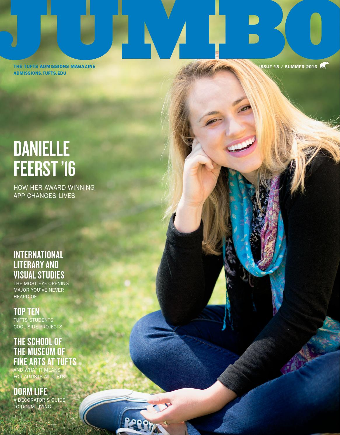 Jumbo magazine   summer 2014 by tuftsadmission   issuu