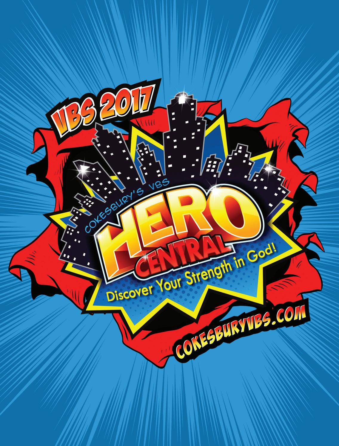 Cokesbury 39 s vbs hero central 2017 catalog by united for Hero central vbs crafts