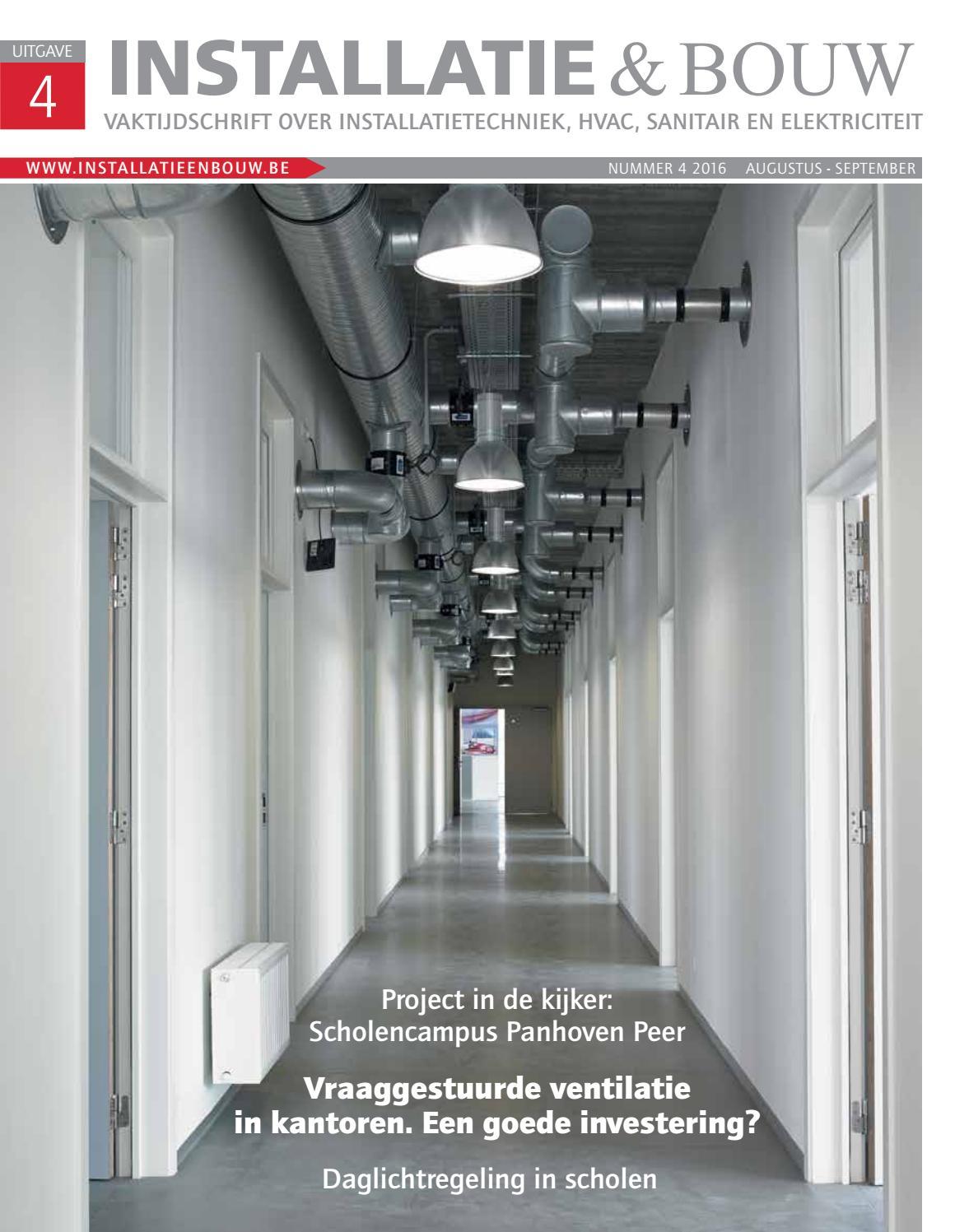 Installatie & bouw 04 2016 by louwers uitgeversorganisatie bv   issuu