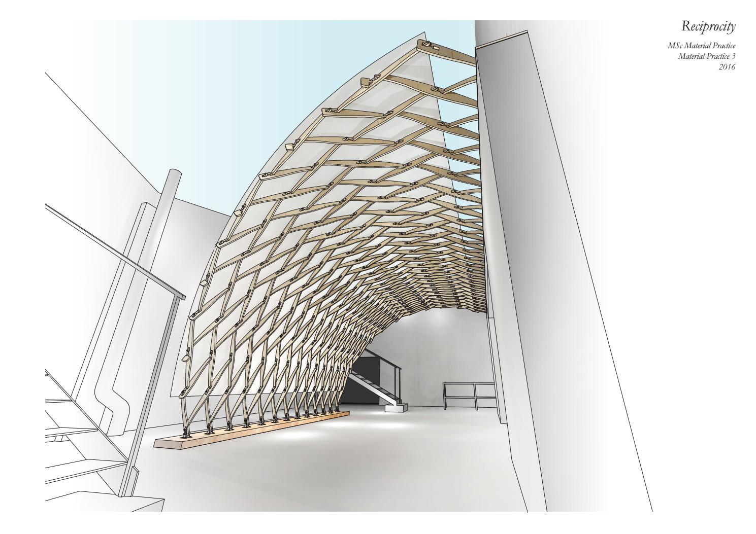 Digitally Fabricated Lamella Structure By Adieste Issuu