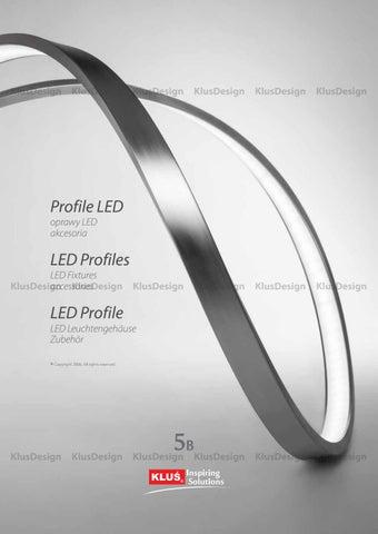 Klus Design-profile cu leduri