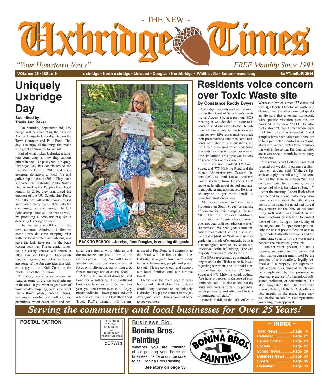the uxbridge times by the new uxbridge times issuu