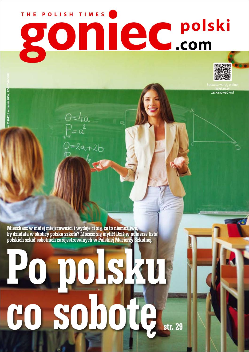 ^ Goniec Polski wyd. 640 by Goniec Polski - issuu
