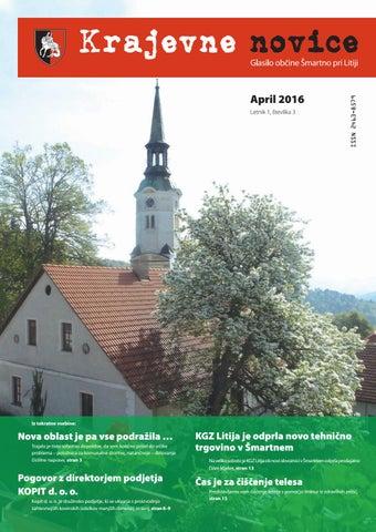 Krajevne novice – april 2016 (letnik 1, številka 3)