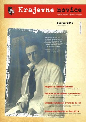 Krajevne novice – februar 2016 (letnik 1, številka 2)