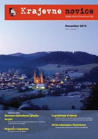 Krajevne novice – december 2015 (letnik 1, številka 1)