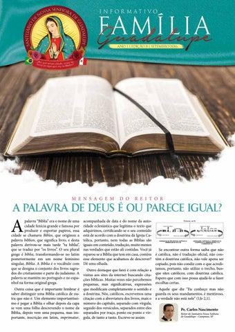 [Informativo Família Guadalupe – 8ª Edição]