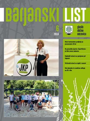 Barjanski list junij 2016