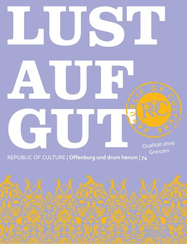 LUST AUF GUT Magazin | Offenburg Nr. 74