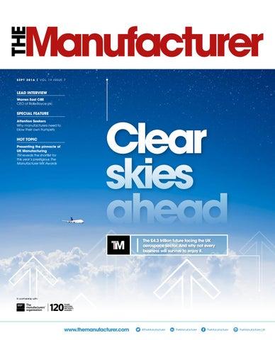 The Manufacturer September 2016