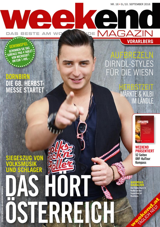 Weekend Magazin Vorarlberg 2015 KW 36 by Weekend Magazin ...