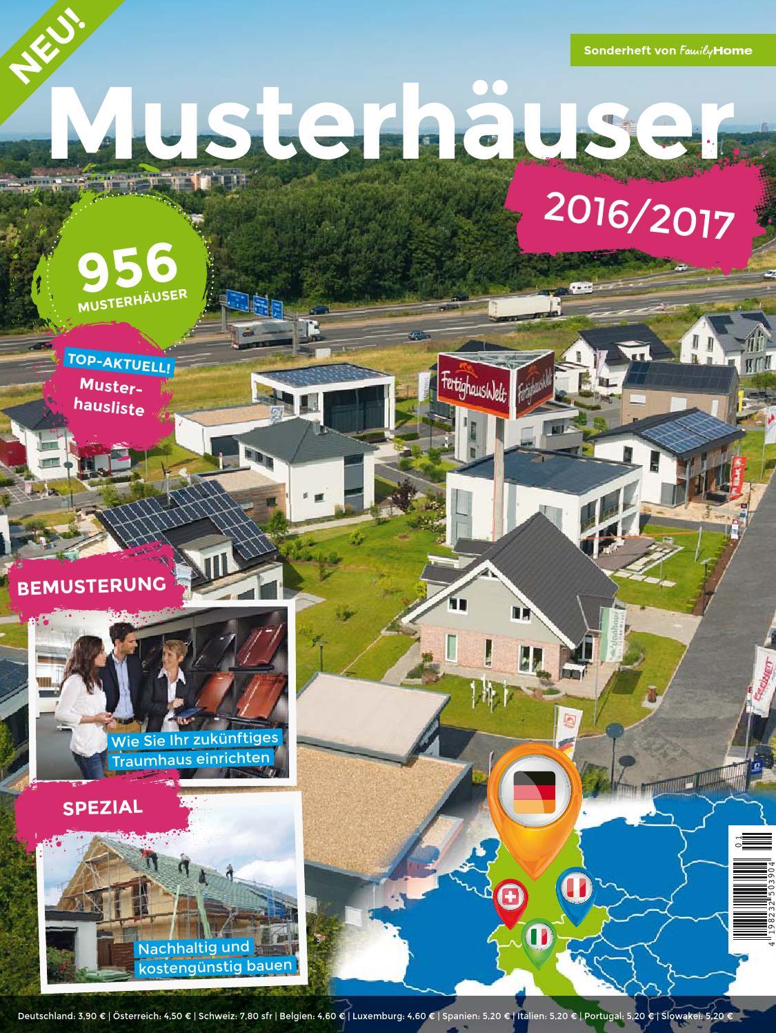 ^ Musterhäuser 2015/2016 by Family Home Verlag GmbH - issuu