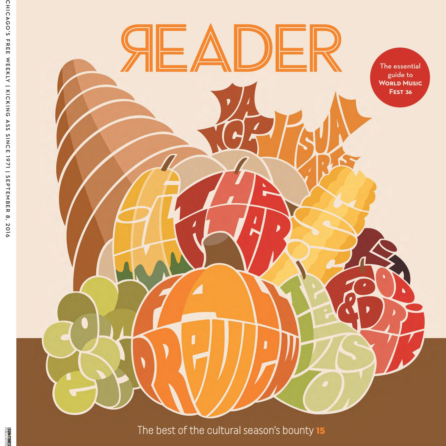 chicago reader print issue of volume number chicago reader print issue of 8 2016 volume 45 number 48