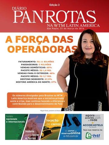 Terceira imagem da lista de edições - WTM Latin America 2016 — Edição 03