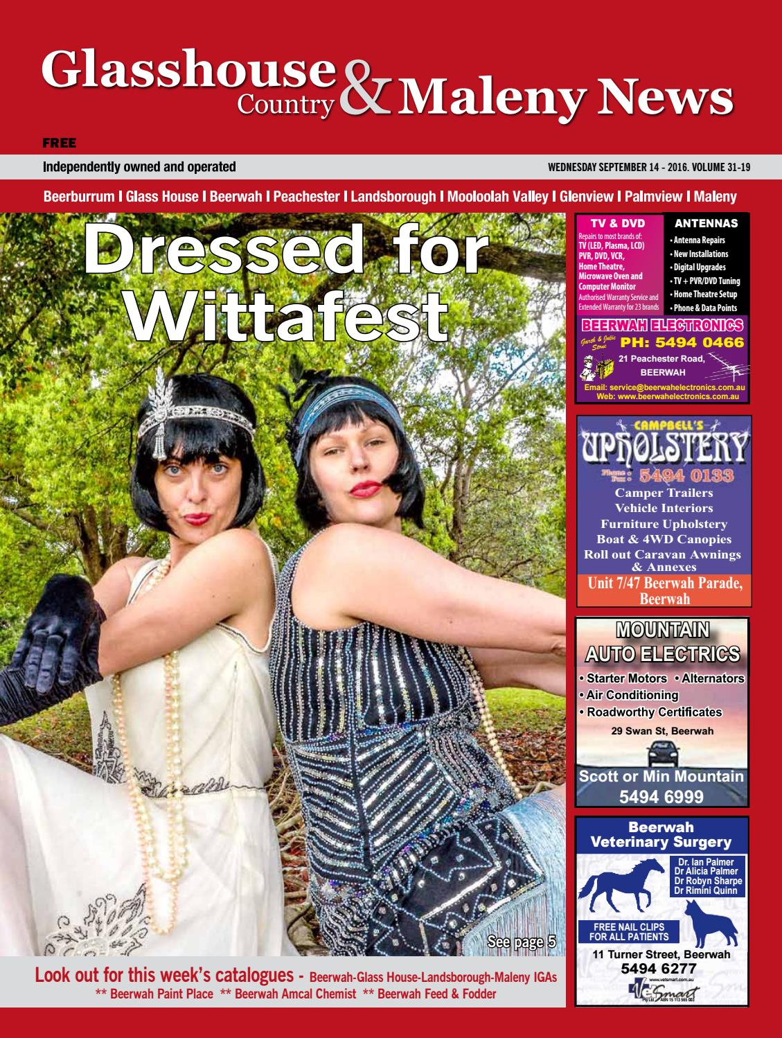 Edition 14 September 2016 By Glasshouse Country News Issuu