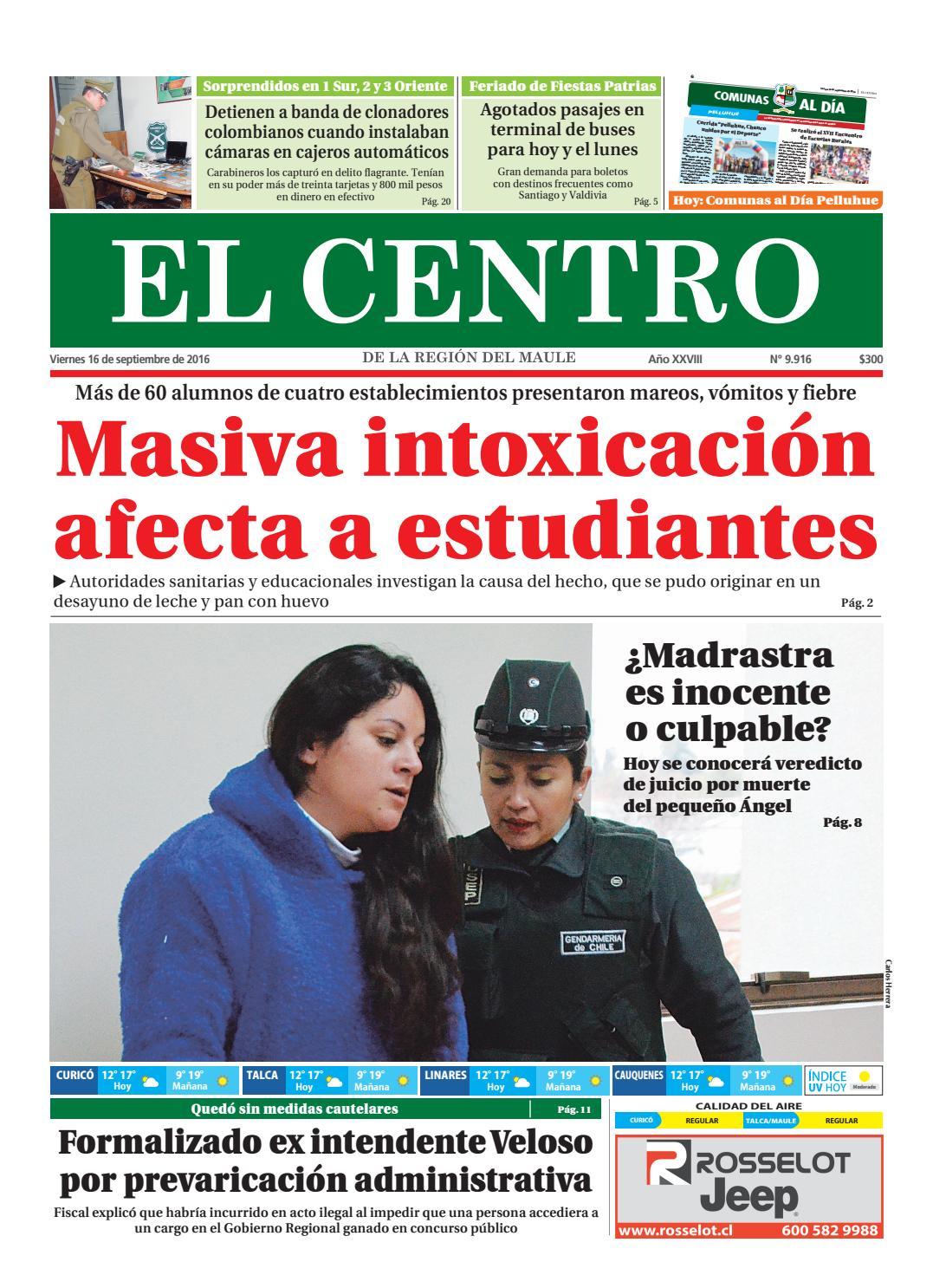 Diario 16,09,2016