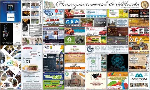 Plano de Albacete Capital 2016 Cara A