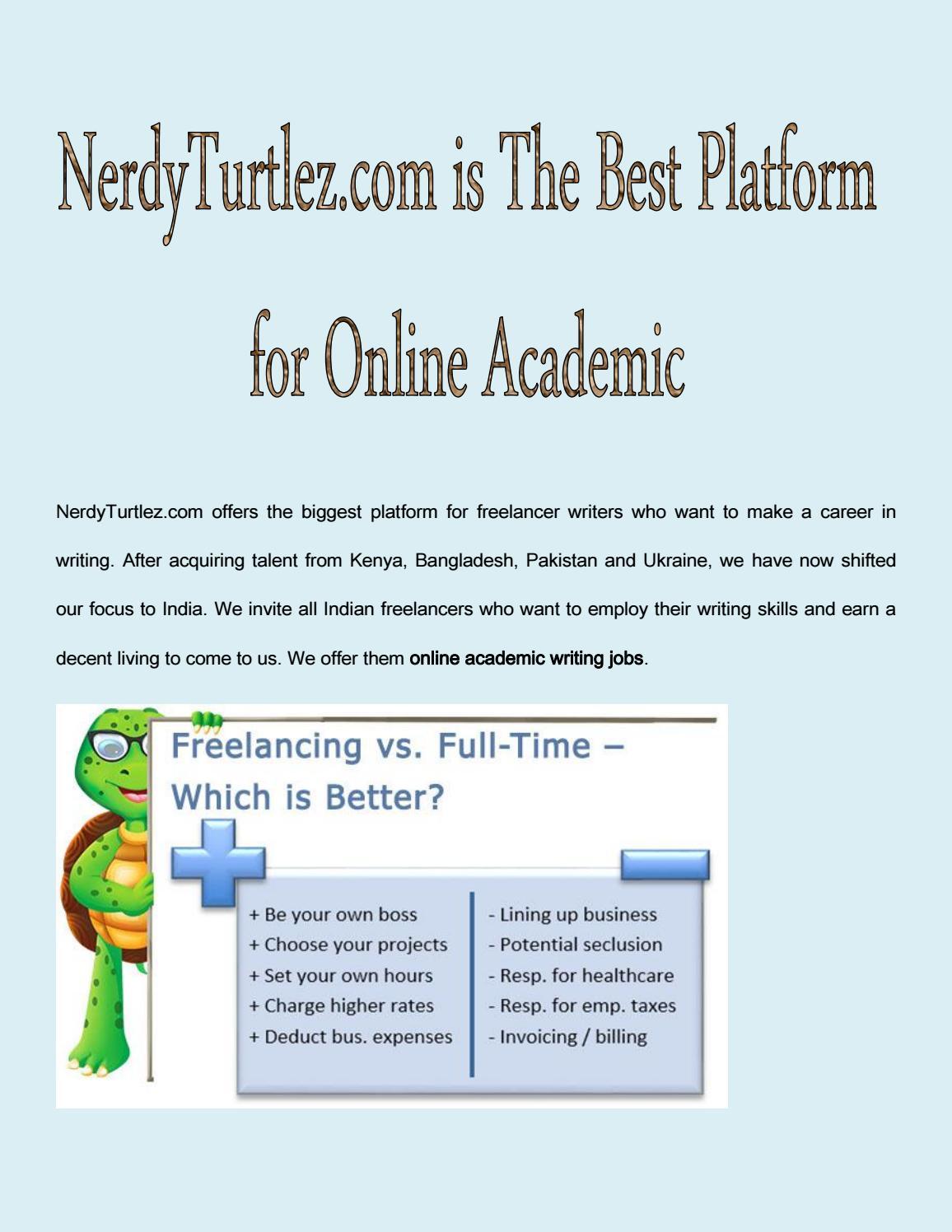 nerdyturtlez com is the best platform for online academic writing nerdyturtlez com is the best platform for online academic writing jobs in by mac larry