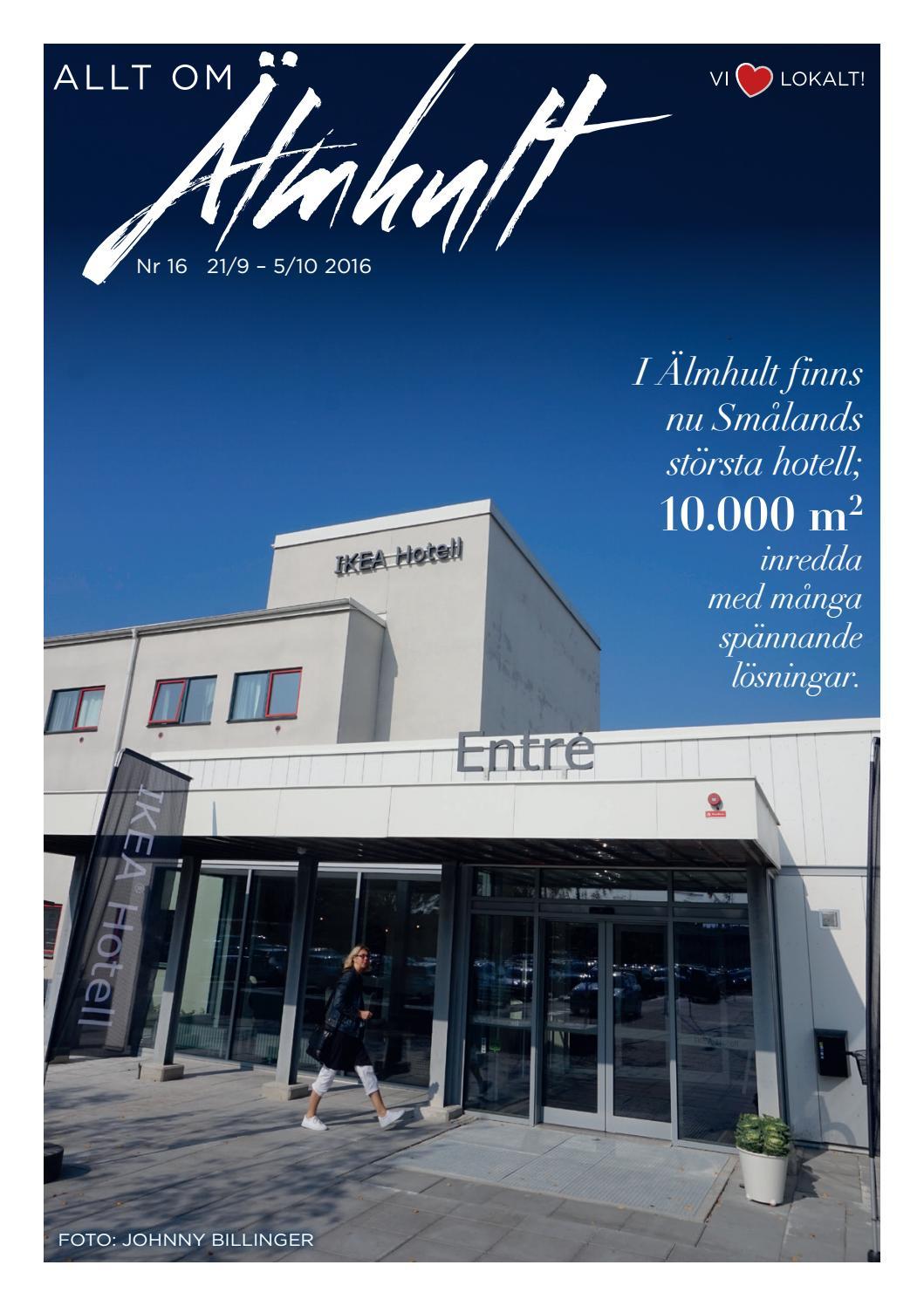 Allt om Älmhult nr. 11 2016 by espresso reklambyrå   issuu