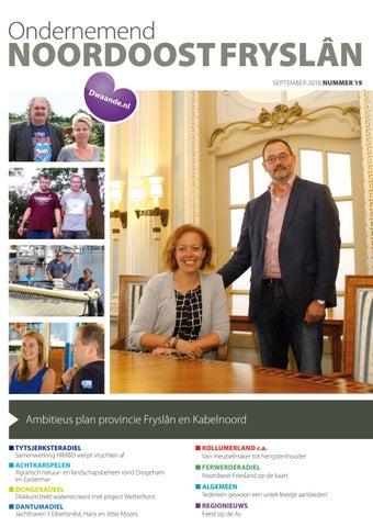 Ondernemend Noordoost Fryslân september 2016
