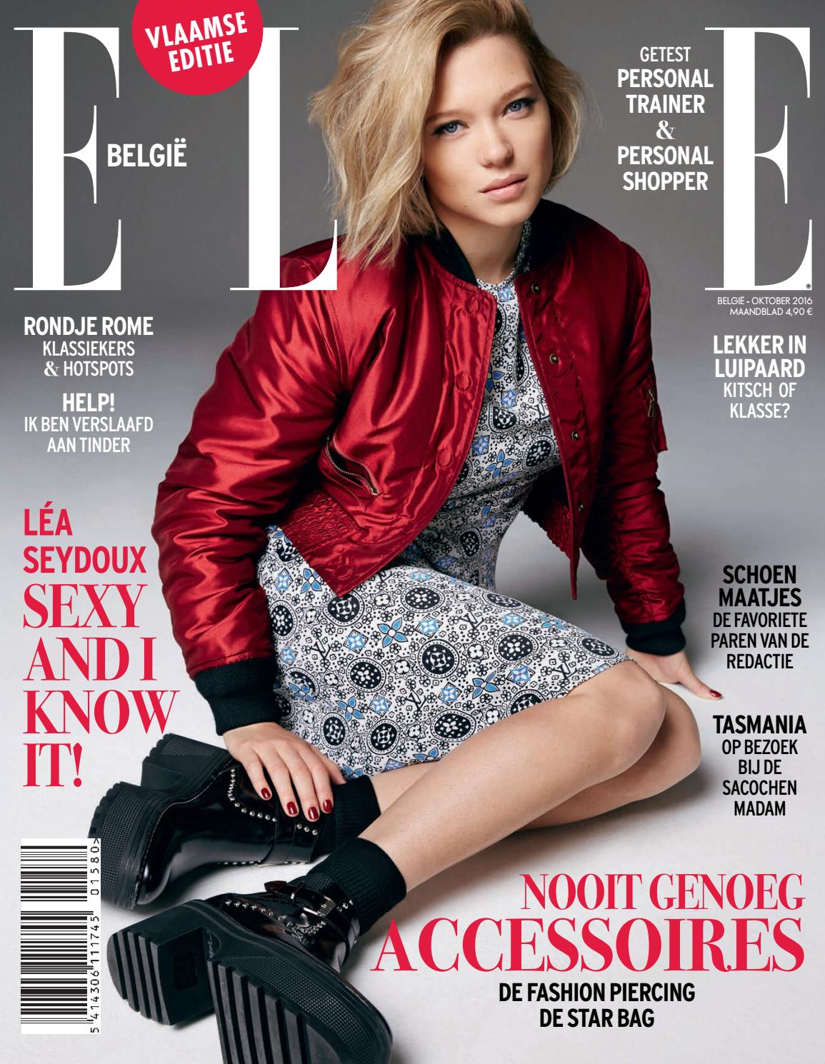 ELLE België nr.158 - Oktober 2016 by Edition Ventures Woman - issuu
