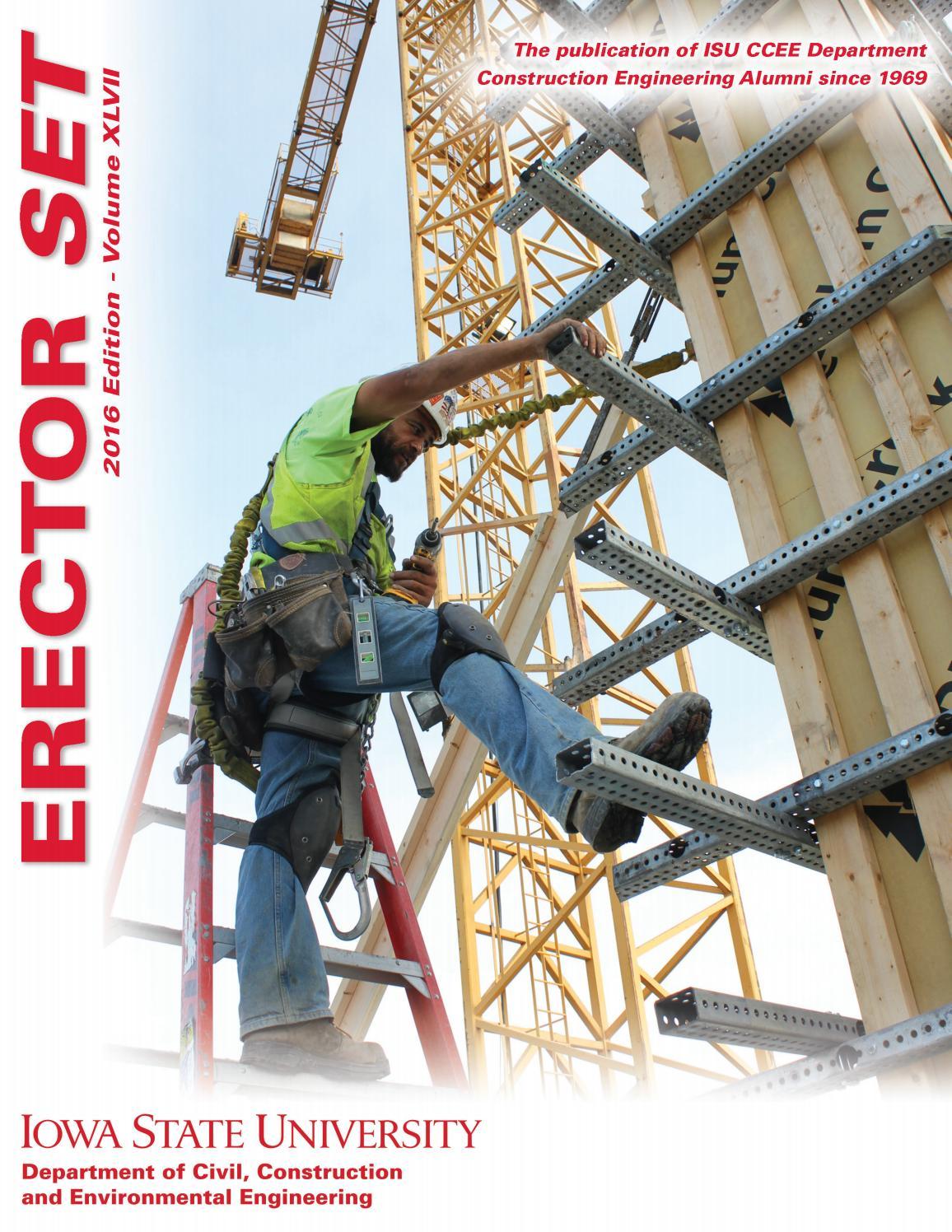 Engineering Plan Set : Erector set iowa state university construction