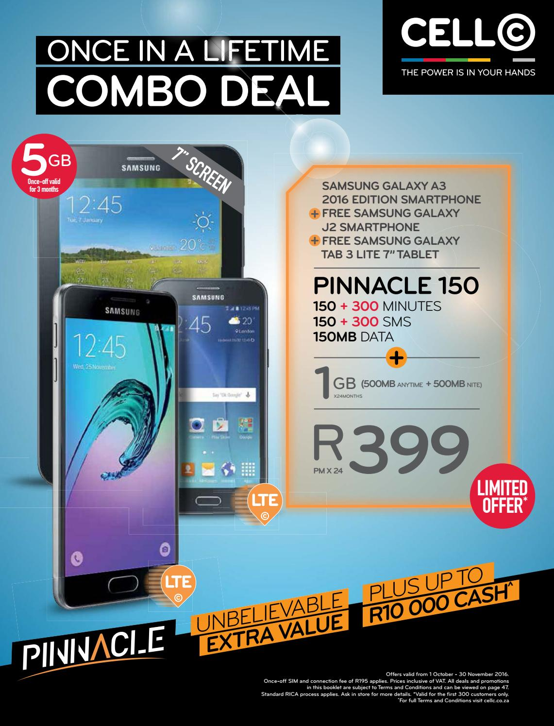 Cell c deals january 2018