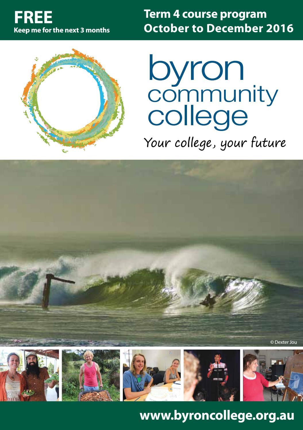 Byron Community College Term 4 2016 By Echo Publications Issuu