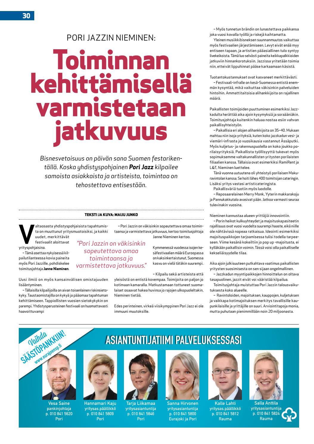 festivaalit suomessa Kokkola