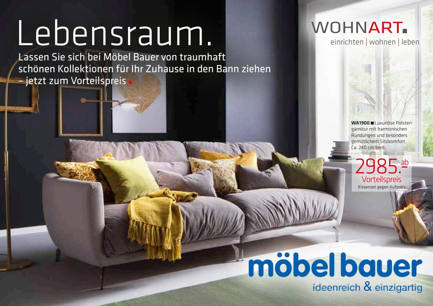 m bel bauer wohnart katalog 2016 by m7 markenpflege issuu. Black Bedroom Furniture Sets. Home Design Ideas