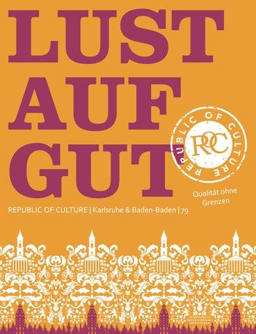 LUST AUF GUT Magazin | Karlsruhe & Baden-Baden Nr. 79