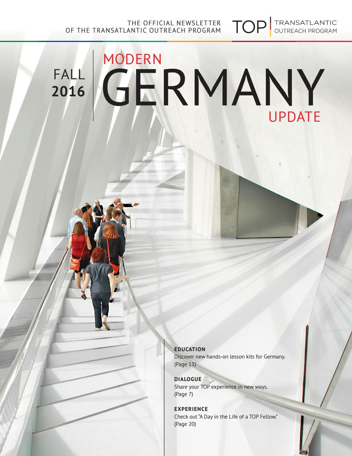 Modern Germany Update 2011 by ransatlantic Outreach Program - issuu - ^
