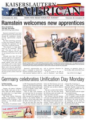 Kaiserslautern American, September 30, 2016