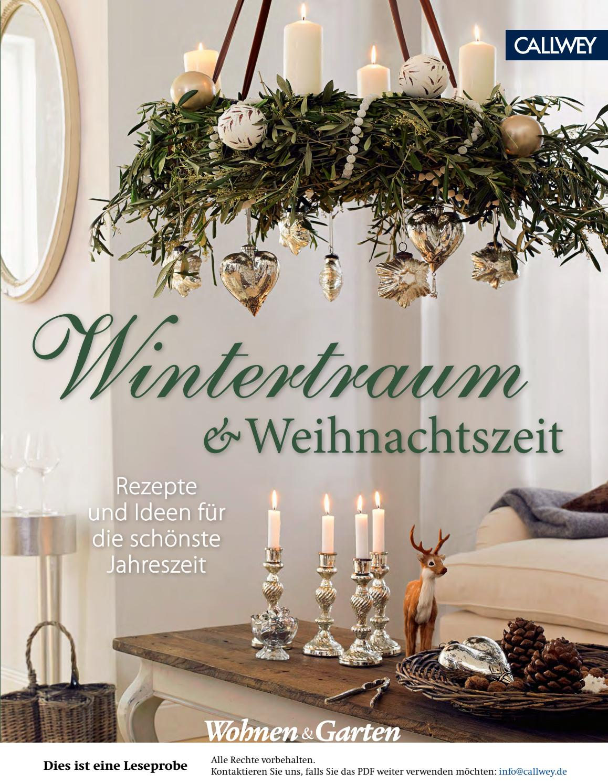 wohnen garten wintertraum und weihnachtszeit by georg d. Black Bedroom Furniture Sets. Home Design Ideas