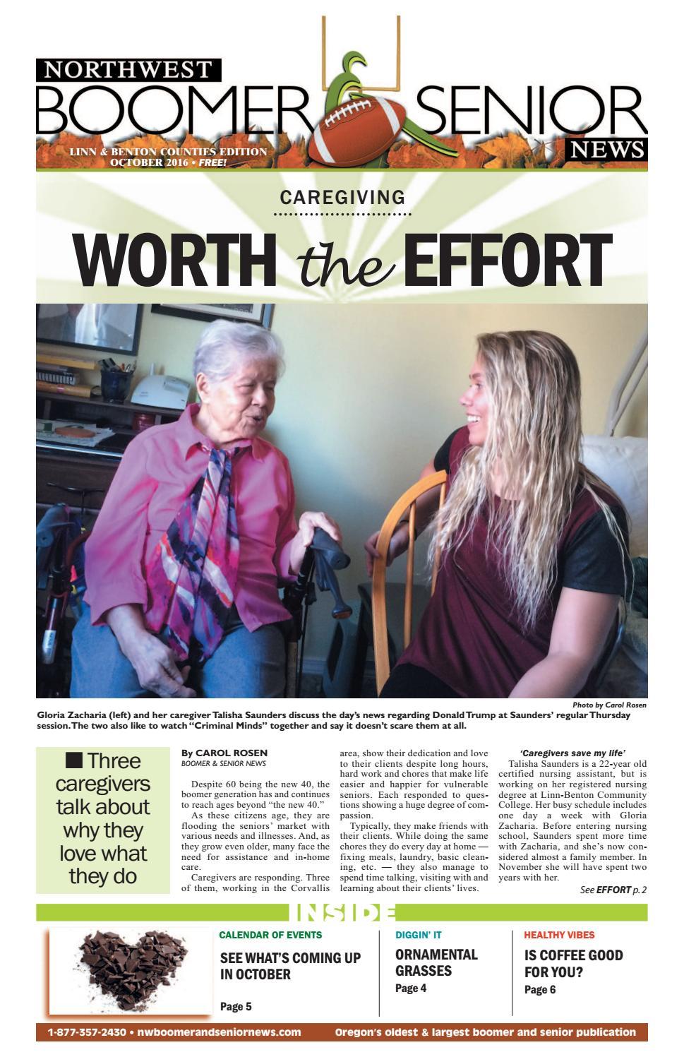 Lb web 2016 10 by Northwest Boomer and Senior News - issuu