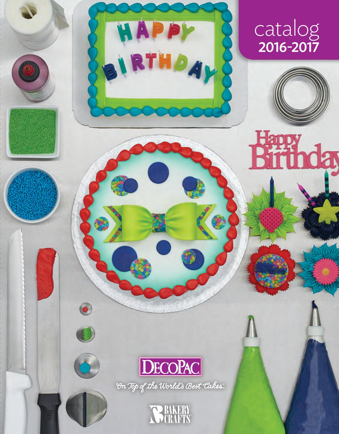 Bakery Crafts Cake Decorating Supplies