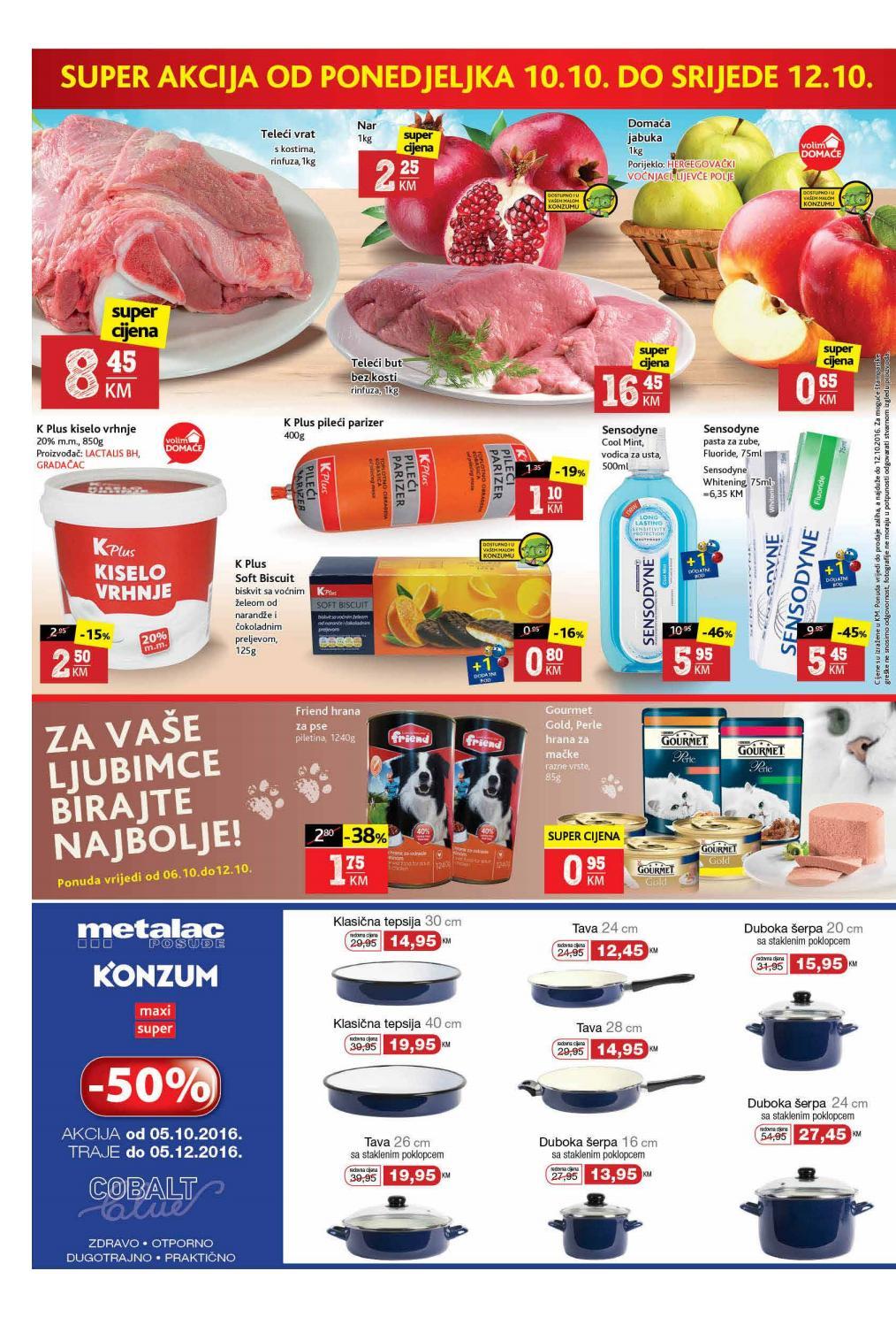 Nema akcije do Konzum akcije! Nova Super akcija u Konzum supermarketima od 10.- 12.10.2016.